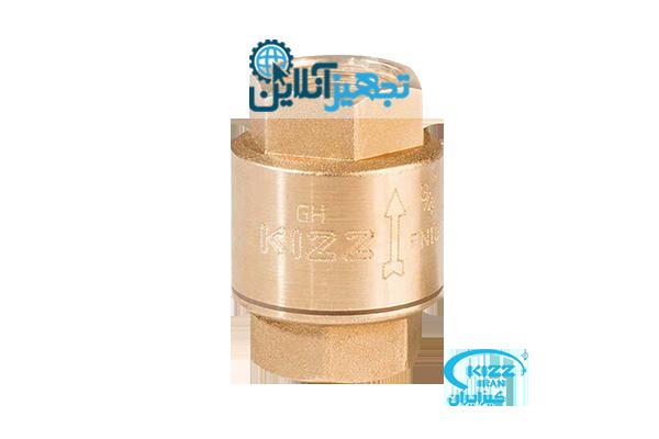 شیر خودکارفنری برنجی کیز ایران سایز2