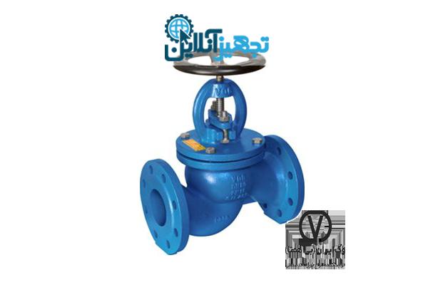 شیر فلکه سوپاپی صاف چدنی PN16 سایز 1،1/4 اینچ وگ ایران بی همتا
