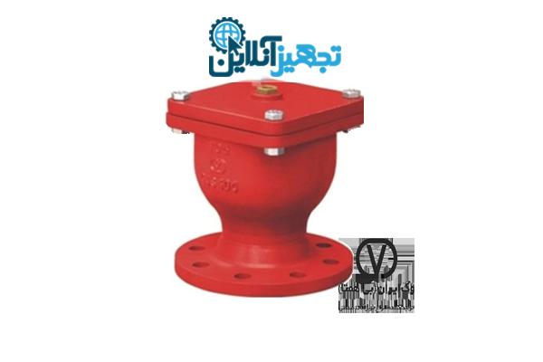 شیر هوا تک روزنه کوچک چدنی PN16 سایز 2 اینچ وگ ایران بی همتا